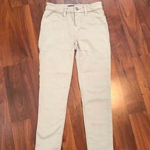 J Brand Cropped Khaki Pants